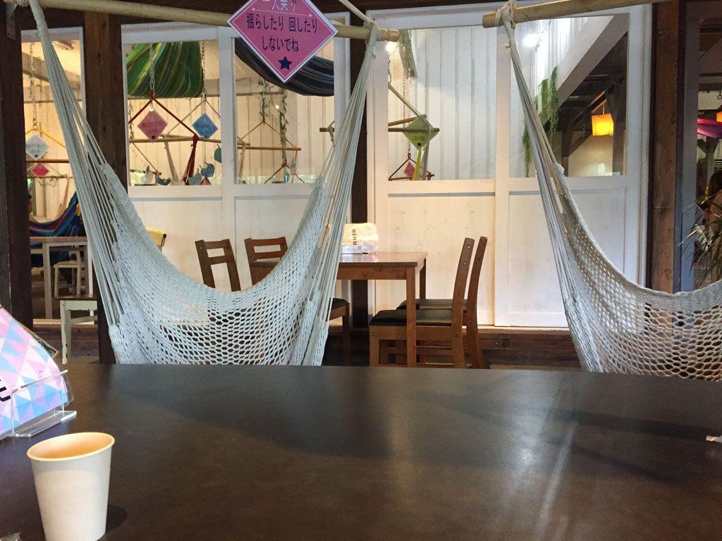 フィンランドの森 ハンモックカフェ