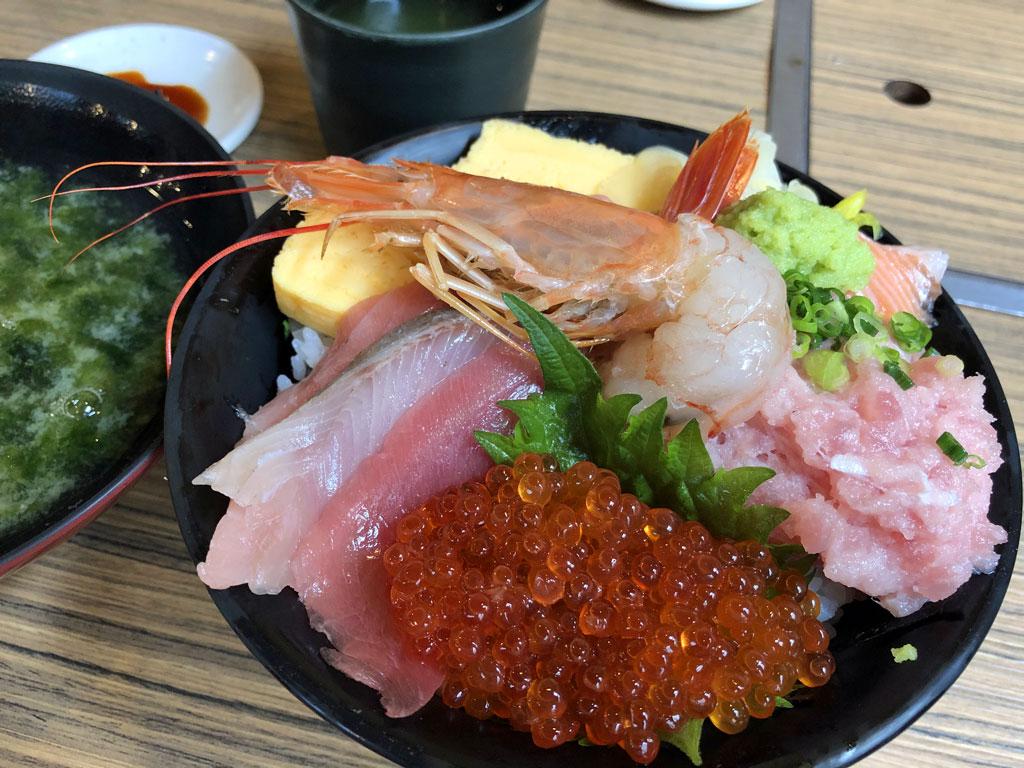 ばんごやの海鮮丼