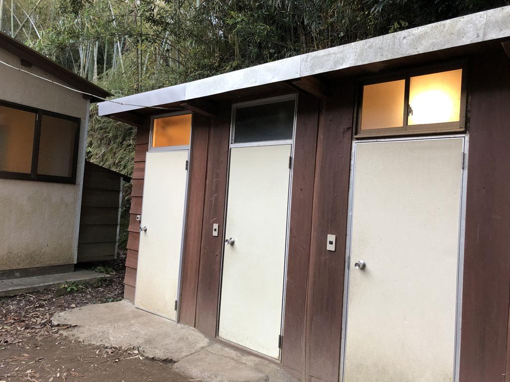 南房総オレンジ村オートキャンプ場 トイレ