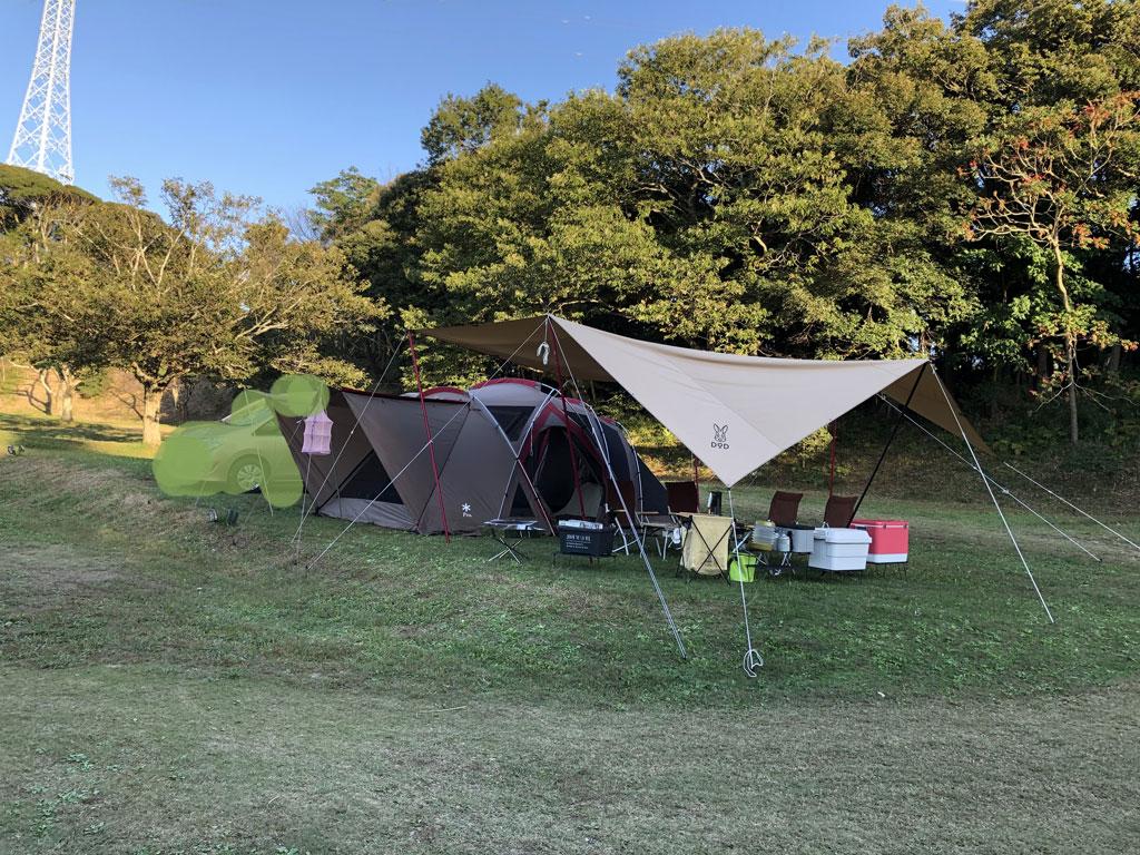 大原上布施オートキャンプ場