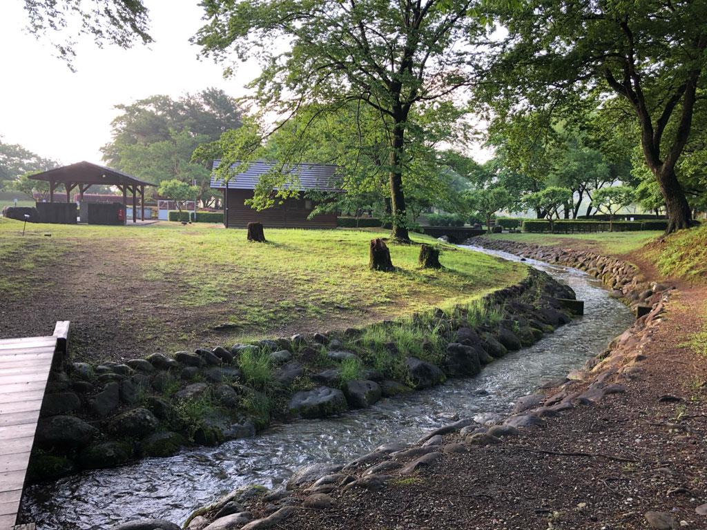 鳥野目河川公園オートキャンプ場