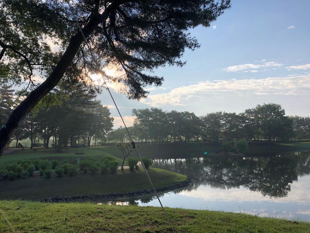 鳥野目河川公園キャンプ場